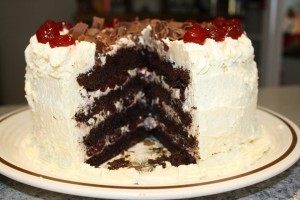 black forest cake joey