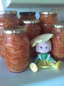 spagetti en tamatie