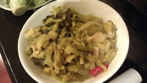 sweet pickled cabbage