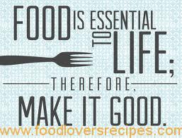 FOOD IS ESSENSIAL
