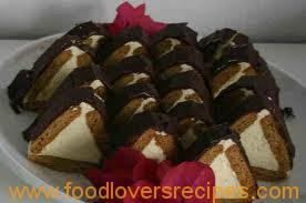 triangle cheesecake