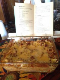 vinnige lasagne