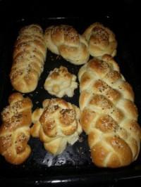 gevlegte brood